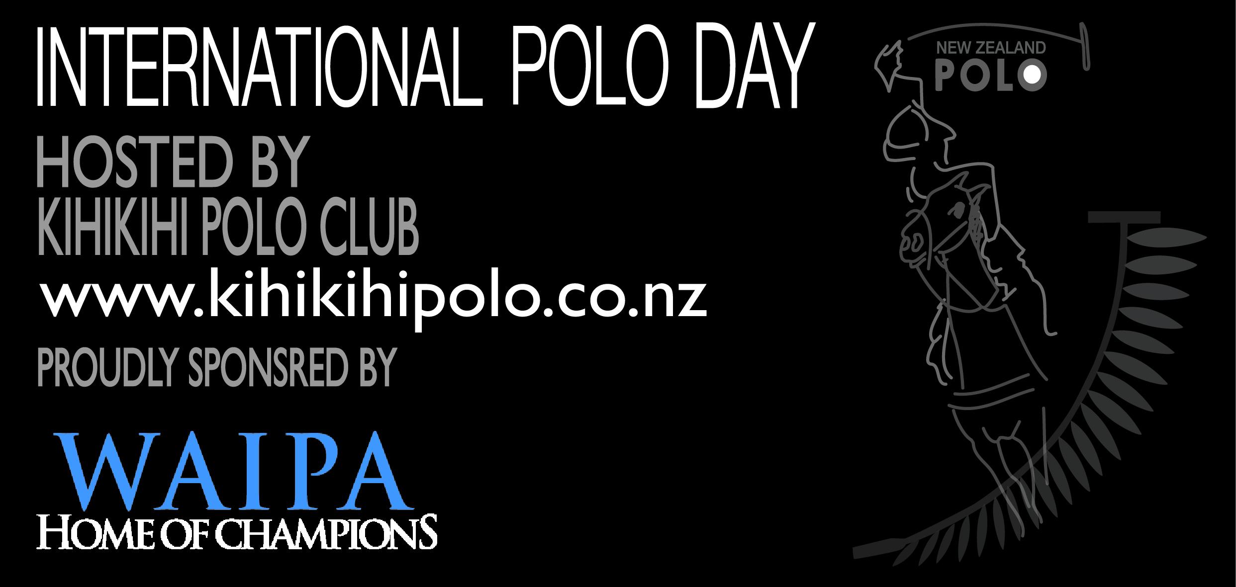 "Waipa District Council - Proud sponsors of International Polo Day - Kihikihi. Watch U-Tube clip below the ""Waipa Home of Champions"""